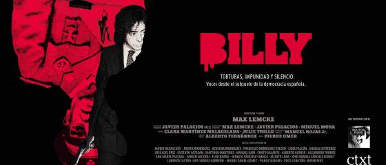 Cartel del documental Billy el Niño, de Max Lemcke